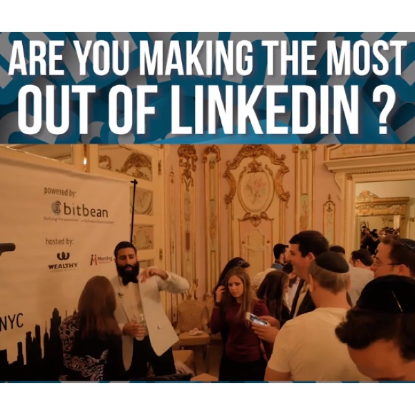 LinkedIn Meetup NYC Powered by Bitbean a Networking Vehicle for Success