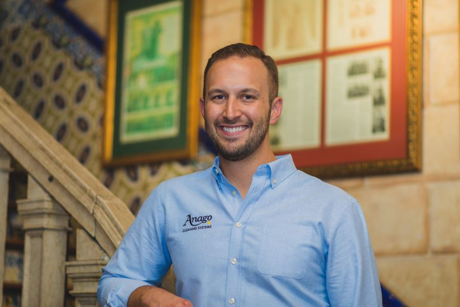 Adam Povlitz of Anago Cleaning Systems
