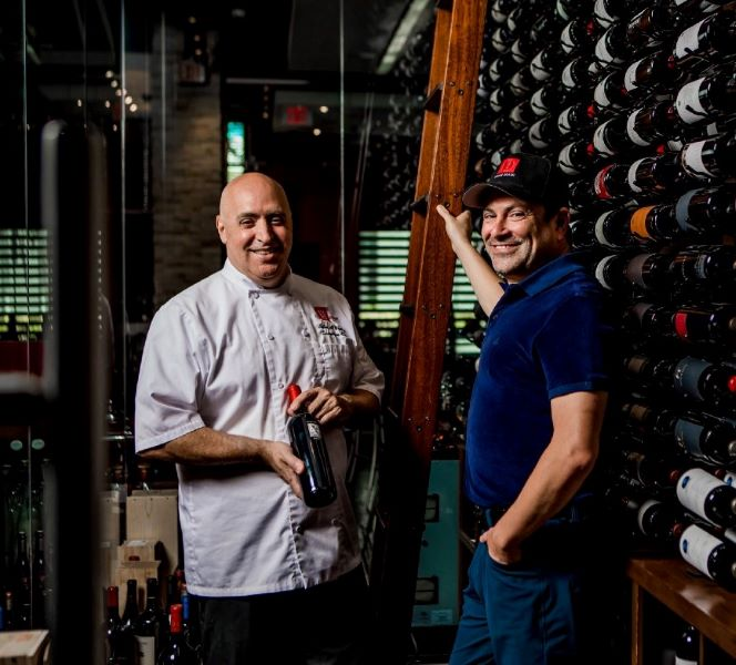 Chef Peter Vauthy and Aaron Hammer of RED South Beach