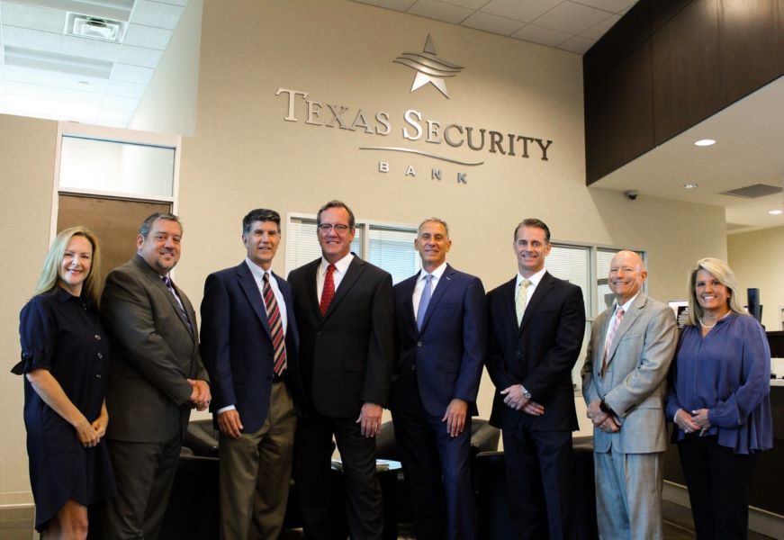 Craig Scheef of Texas Security Bank