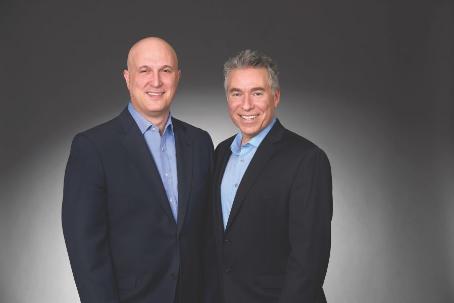 Dr. Jeffrey Schor and Steven Katz of PM Pediatrics