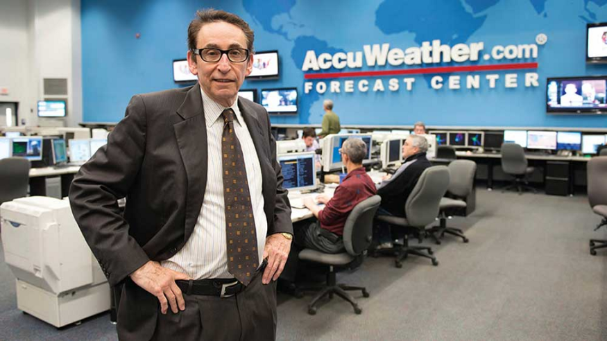 Dr. Joel N Myers of AccuWeather