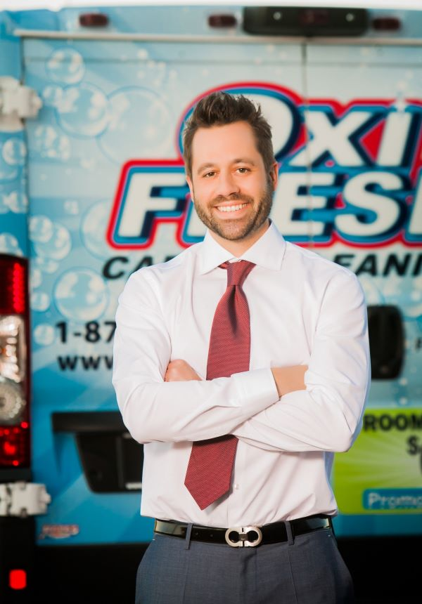 Jonathan Barnett of Oxi Fresh Carpet Cleaning