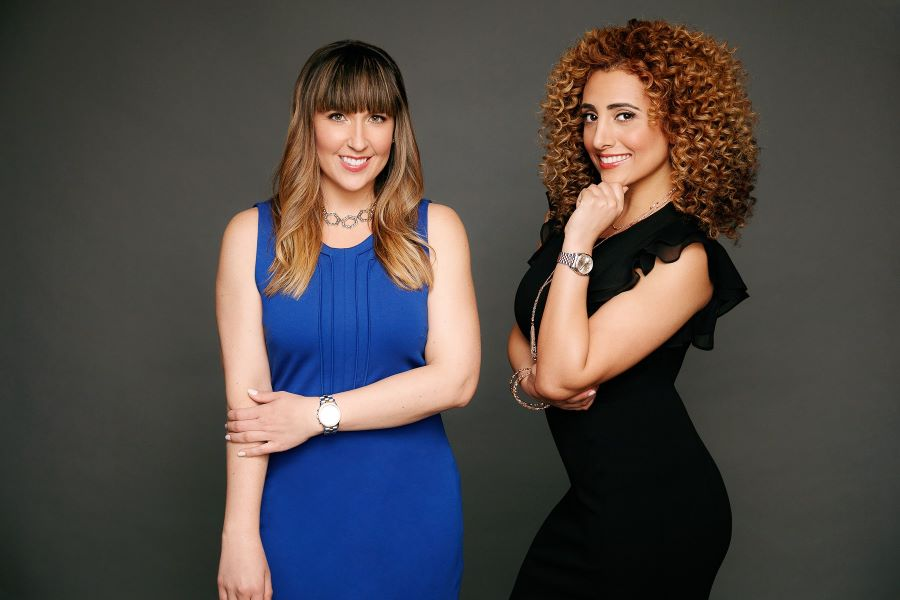 Lana Hout and Adrianna Smith of First Choice Business Brokers