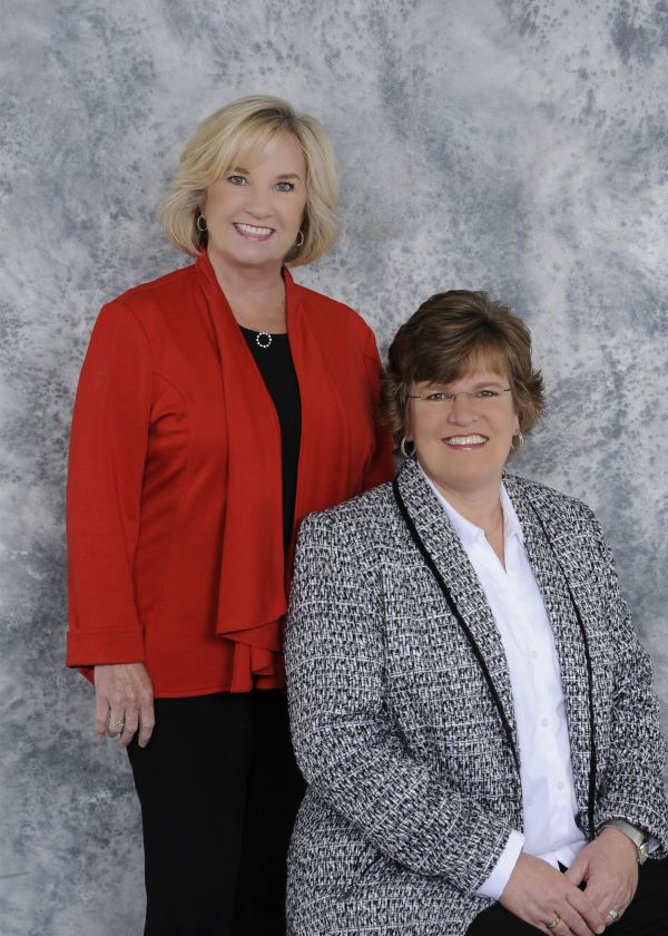 Mary Alice Hughes and Lisa Bamburg of Insurance Advantage