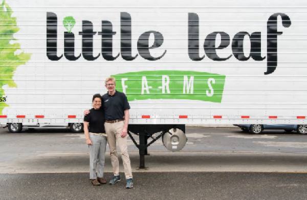 Paul Sellew of Little Leaf Farms