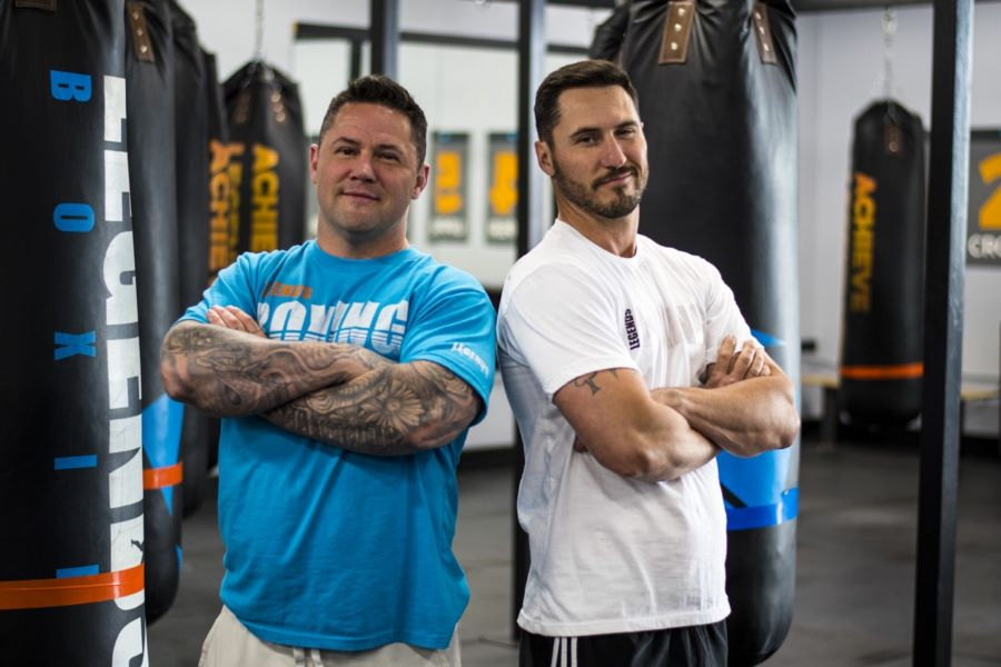 Rob & Andrew Scott of Legends Boxing