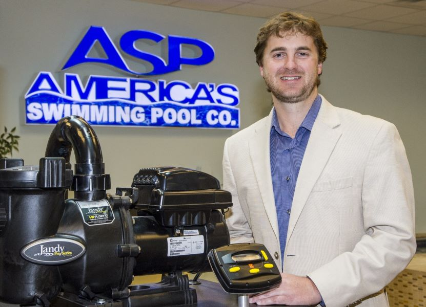 Stewart Vernon of America's Swimming Pool Company